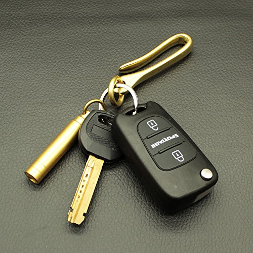 Jual PPFISH Solid Brass U Hook Key Loop Pocket Clip with Ring ... 9db763e623