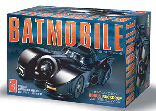 Model Batmobile - AMT 1/25 1989 Batmobile Plastic Model Kit
