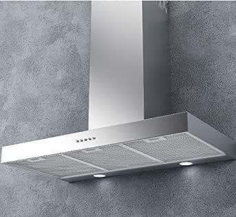 P7 600 - Campana extractora (60 cm, instalación en pared, acero inoxidable): Amazon.es: Grandes electrodomésticos