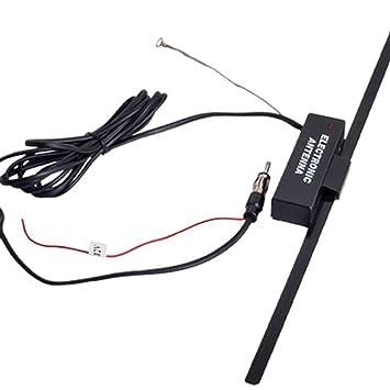 lovelifeast Booster de antena de radio para coche antena de radio fm/am Parabrisas 12 V Electronic Auto Portable Accesorios Nueva: Amazon.es: Coche y moto