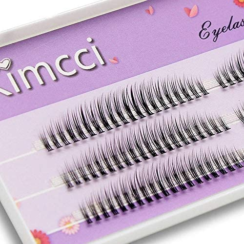 C-8mm, Blue Fans 5D 0.07mm Kimcci C/D/DD Curl Mix Length 3D Mink Eyelash Extension Natural Russian Volume False Eyelashes Makeup Faux Fake Lashes Cilias