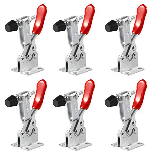Anndason 6 PCS Hand Tool Toggle Latch Clamp 201B,220 Lbs Holding Capacity Horizontal Clamp Horizontal Quick Release…