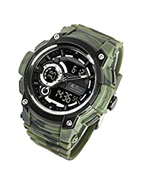 [LAD WEATHER] Triple time/ Military/Camouflage/Outdoor/Men's Watch
