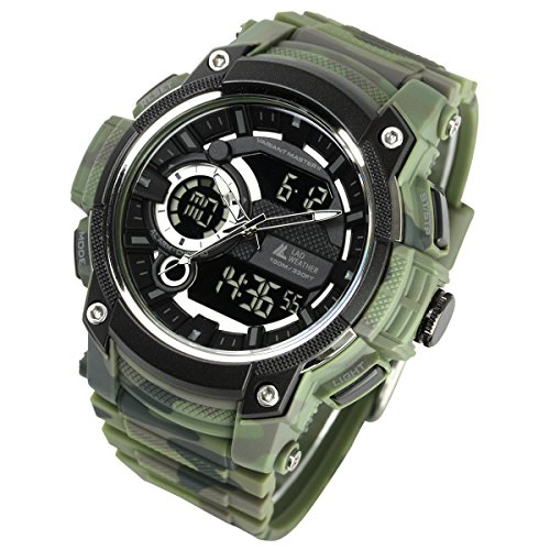 [LAD Weather] Triple time/Military/Camouflage/Outdoor/Men's Watch by LAD WEATHER