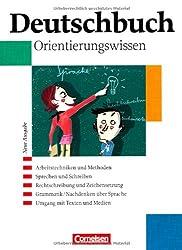 Deutschbuch Gymnasium - Allgemeine Ausgabe: 5.-10. Schuljahr - Orientierungswissen: Schülerbuch