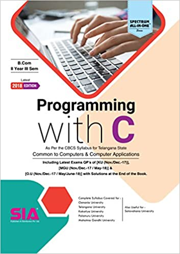 Amazon in: Buy Programming with C, (Common to Computers