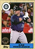 #4: 2017 Topps Series 2 1987 Topps Rookie and All-Star Edition #87-183 Dan Vogelbach Mariners