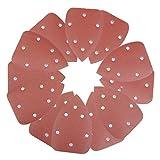Folconauto 80PCS Mouse Sanding Pads Mouse Sanding Sheets Sandpaper Sander Discs Pads 40-800 Grit Sandpaper