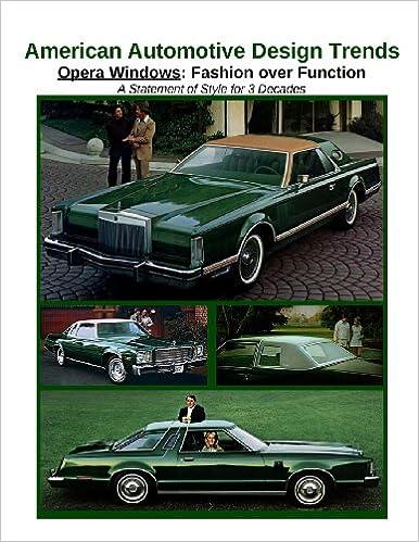 Amazon.in: Buy American Automotive Design Trends / Opera Windows ...