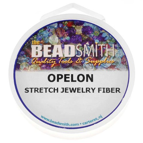 Beadaholique Opelon Floss Stretch Bead Cord, ()