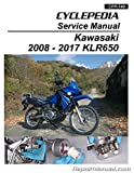 CPP-149-P Kawasaki KLR650 Motorcycle Cyclepedia Printed Service Manual