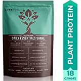Vegan Meal Replacement Shake by LyfeFuel - Low Carb Plant Based Protein + Organic Superfood Powder - Ideal Shakes for Men & Women on Ketogenic & Vegetarian Diet - 18 G Protein (Chocolate, 14 Servings)