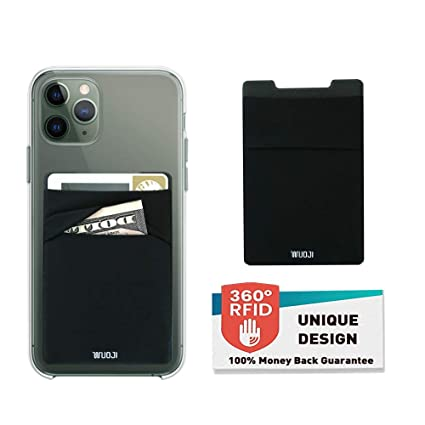 Amazon.com: RFID billetera para tarjetas de teléfono con ...