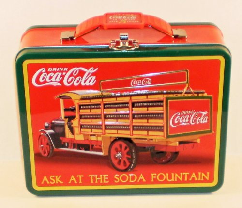 Coca Cola Embossed Metal Lunch Truck