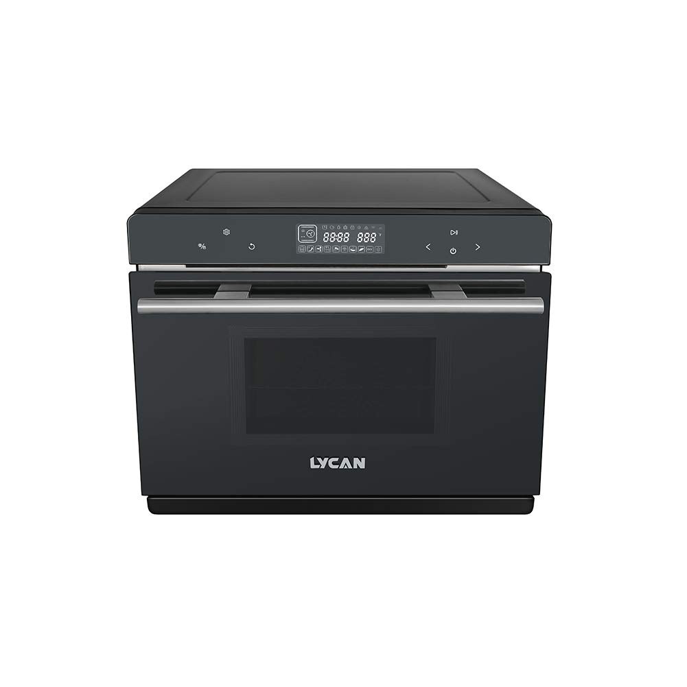Shougui Countertop 1800-Watt Convection Steam Oven with Touch Control Kitchen Cooktop Stainless Steel Freestanding steam oven 40L Capacity -NSO2101 (18cm20.9cm15.9cm, Gray)