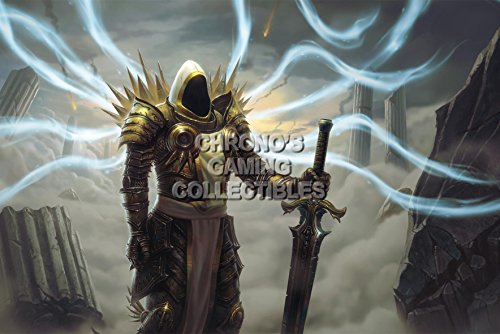 """Price comparison product image CGC Huge Poster - Diablo III Reaper of Souls PS3 PS4 XBOX 360 ONE - Tyrael Archangel of Justice - DIA025 (24"""" x 36"""" (61cm x 91.5cm))"""