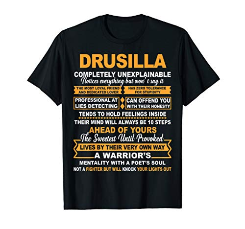DRUSILLA Completely Unexplainable T-shirt is