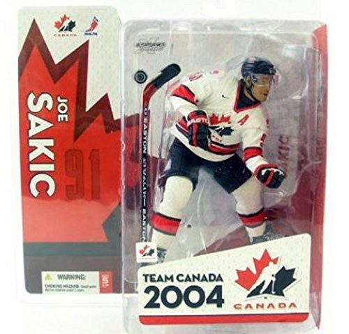 McFarlane Toys NHL Sports Picks Team Canada Action Figure Joe Sakic ()