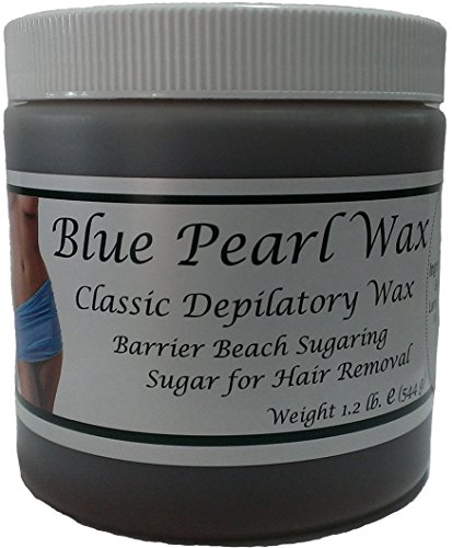 Blue Pearl Wax Barrier Beach Sugaring Sugar for Hair Removal Choose Type (Firm)
