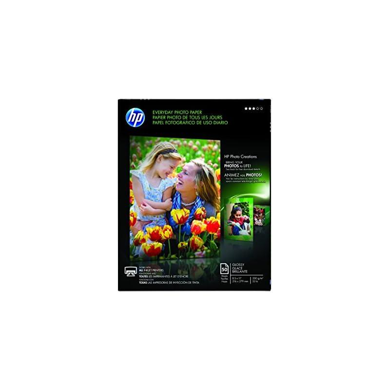 HP Everyday Photo Paper, Glossy, 8.5 x 1