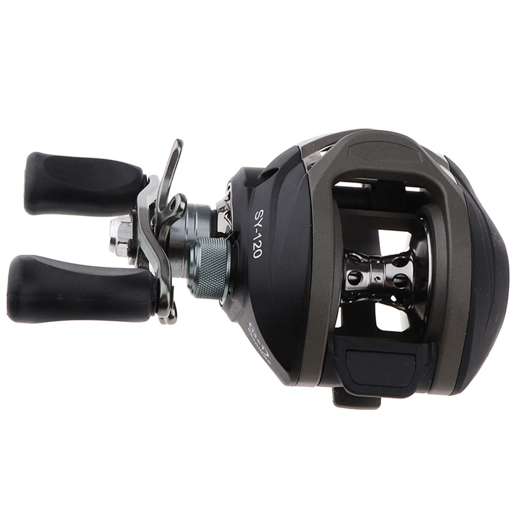 Left//Right Handed Trolling Fishing Reels Sensitive Throw Baits DYNWAVE Corrosion Resistant Baitcaster
