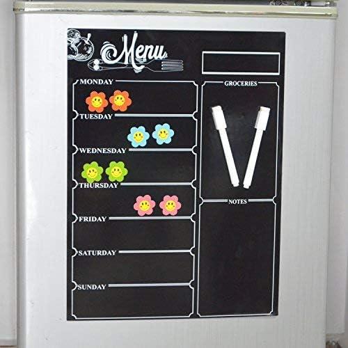 Tableau noir magnétique réfrigérateur Liste de Courses pour ...
