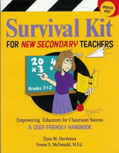 Read Online Survival Kit for New Secondary Teachers: Empowering Educators for Classroom Success ebook