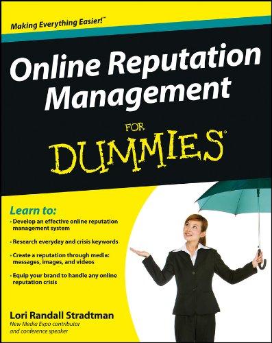 Download Online Reputation Management For Dummies Pdf
