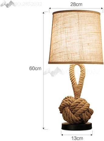Corde Americaine Led Lampes De Bureau Vintage Lampe De Table