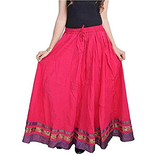 Indian Handicrfats Skirt Beautiful Export Cotton Printed 7pn78