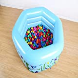 Cocal Large Inflatable Swimming Pool Center Lounge Family Kids Water Play Fun Backyard Swim Center Clearview Aquarium Inflatable Pool
