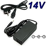 Adaptateur Secteur Alimentation Chargeur 14V pour Ecran Moniteur TV SAMSUNG UE22F5000AW UE22F5000 LCD