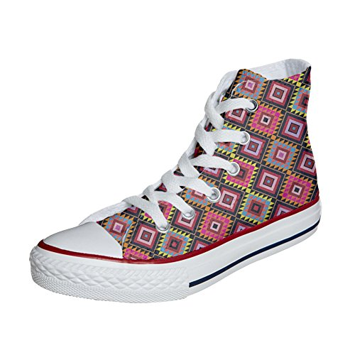 African Adulte Converse Chaussures Coutume Artisanal Mys Customized produit Texture P0pxq4
