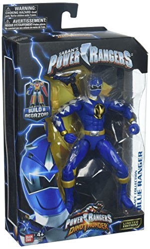 gacy Action Figure, Dino Thunder Blue (Legacy Power Drive)