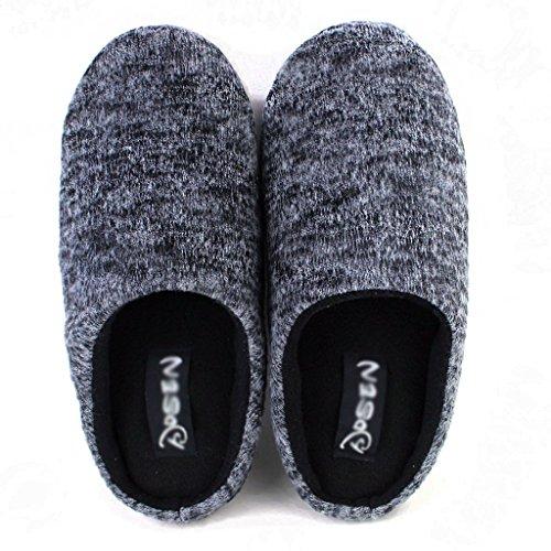 dérapant Hiver Maison Chaud Pattern De Coton Pour Hommes Dww 2 Anti Pantoufles Chaussons Simple Couleur Unie Chaussures 3qA5c4RjL