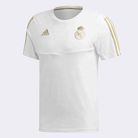 adidas Real tee Camiseta, Hombre, Negro/Orfúos, XL: Amazon.es ...