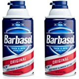 Barbasol Original Thick & Rich Shaving Cream for Men, 10 oz (2)