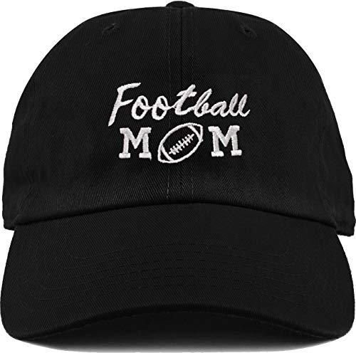 H-214-FBM06 Dad Hat Unconstructed Baseball Cap - Football -