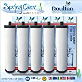 Franke Sinks Ceramic 5 x Pack - Franke Triflow Compatible Filter Cartridges By Doulton M15 Ultracarb (NO Import Duty or Taxes to pay on this product)