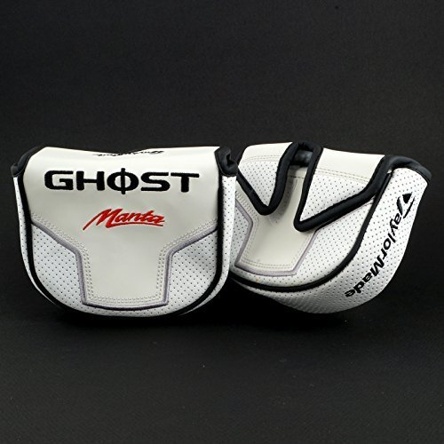 TaylorMade GHOST Tour Manta Mallet Putter Headcover, Center Shaft - Ghost Tour Putter