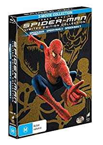 Spider-man Trilogy [3- Movie Collection] [Limited Edition] (Blu-ray)
