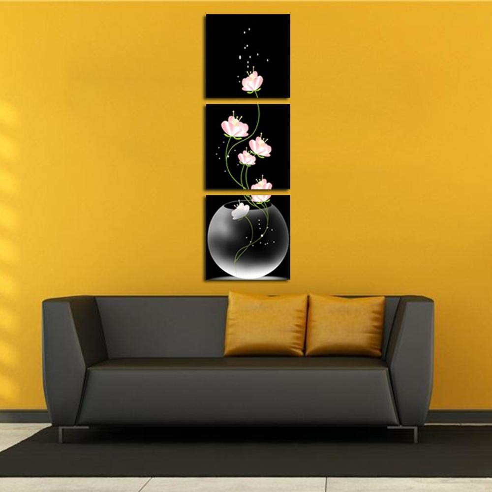 Shisky Quadri Moderni,Dipinto Olio su Tela No Frame 3 Sfondo di Verticale Fiore Pittura Computer Inkjet Decorativo Core