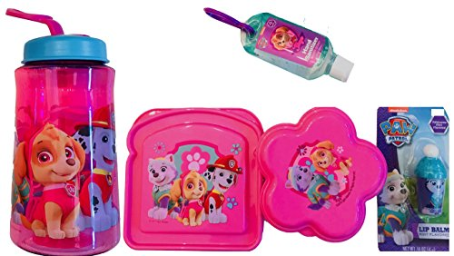 - Paw Patrol Girls 5 Pc Lunch Gift Set, Lunchtime Food Storage Containers Kit (Round)