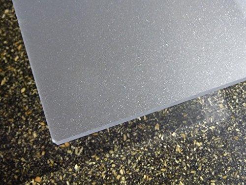 Platte Acrylglas GS 1000 x 500 x 3 mm, satiniert, farblos DC beidseitig alt-intech® alt-intech PC/PMMA Platte
