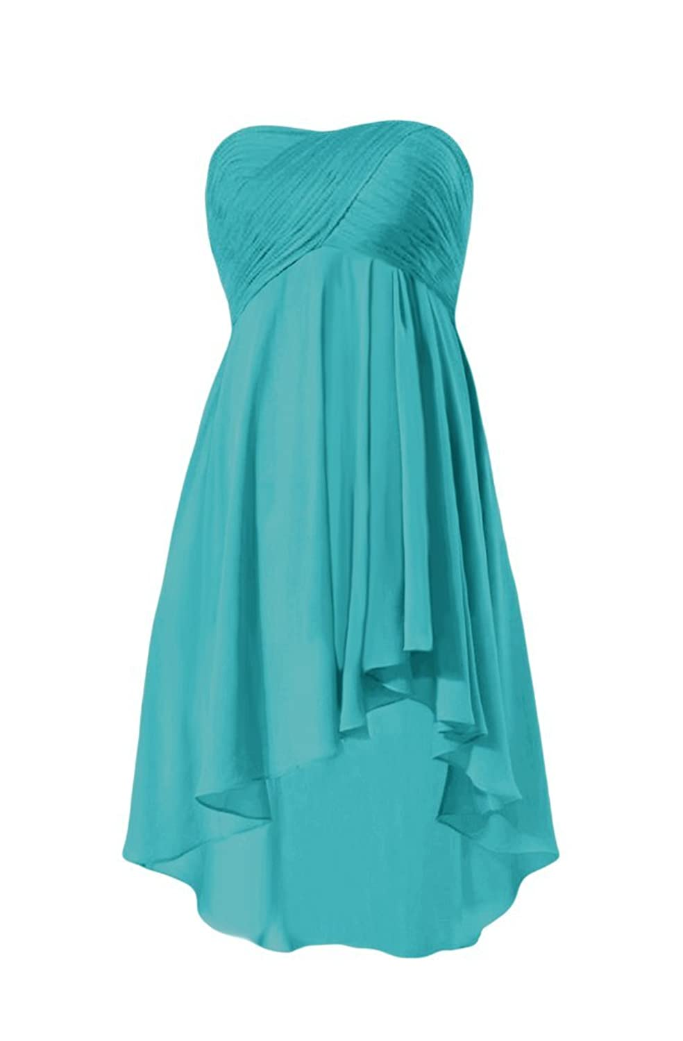 DaisyFormals Strapless Chiffon Party Dress Party Dress Prom Dress (BM2428)