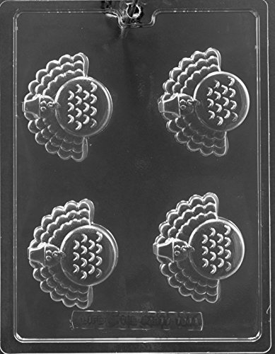 Thanksgiving Turkey Oreo Cookie Candy Chocolate Mold Soap Mold m100