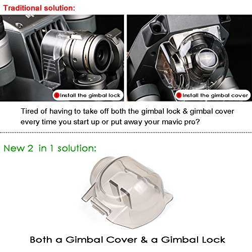 Arzroic-Mavic-Pro-Gimbal-Lock-Camera-Lens-Cover-Guard-Protector-Accessories-for-DJI-Mavic-Pro-Platinum-2018-Version