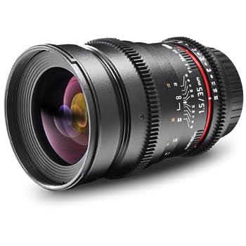 Image of Audio Docks Walimex Pro 35/1.5 Video DSLR Canon EF Black