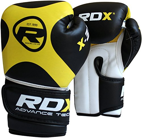 Authentic RDX 6oz Kids Boxing Gloves,Punch Bag Mitts Junior Children MMA Kick X3