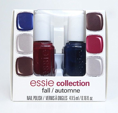 Fall - Automne Collection nail Lacquer Polish Na1 Mini Set 4 x 5 .16oz